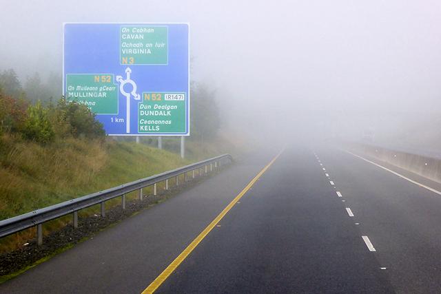 M3 Motorway near Kells