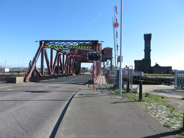 Tower Road Bascule Bridge, Birkenhead