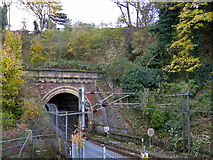 TM1543 : Ipswich or Stoke Tunnel, station end by Robin Webster