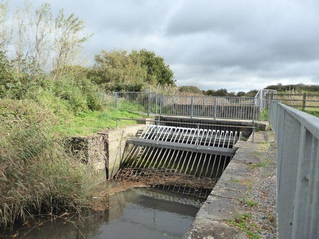 Former lock behind Newton Abbot Racecourse
