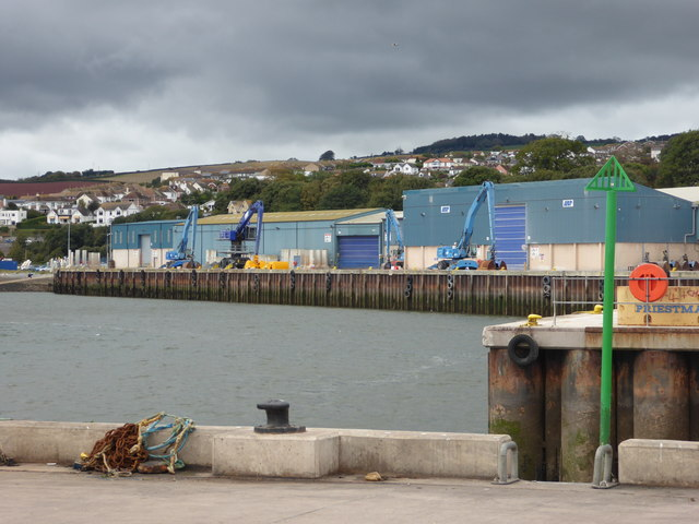 Teignmouth Docks