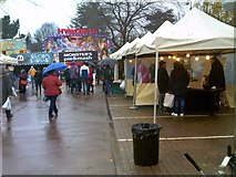 SO9198 : Victorian Market Stalls by Gordon Griffiths