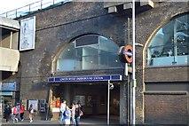 TQ3380 : London Bridge Underground Station by N Chadwick
