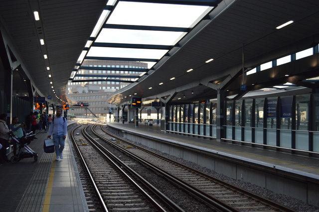Platforms 7 & 8, London Bridge Station