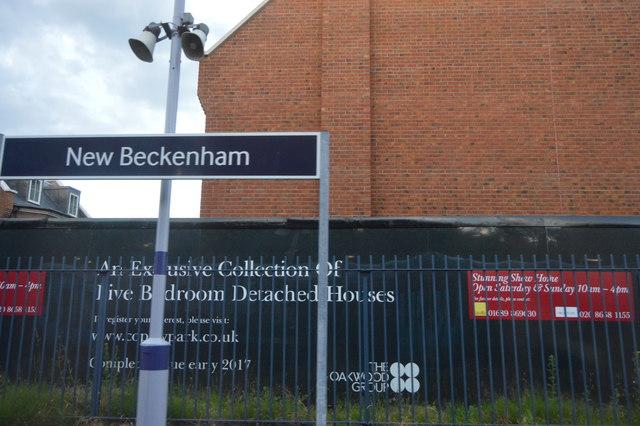 New Beckenham Station