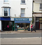 ST0207 : Cullompton: The Little Bakery by Martin Bodman