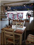 ST0207 : Cullompton: inside The Little Bakery cafe by Martin Bodman