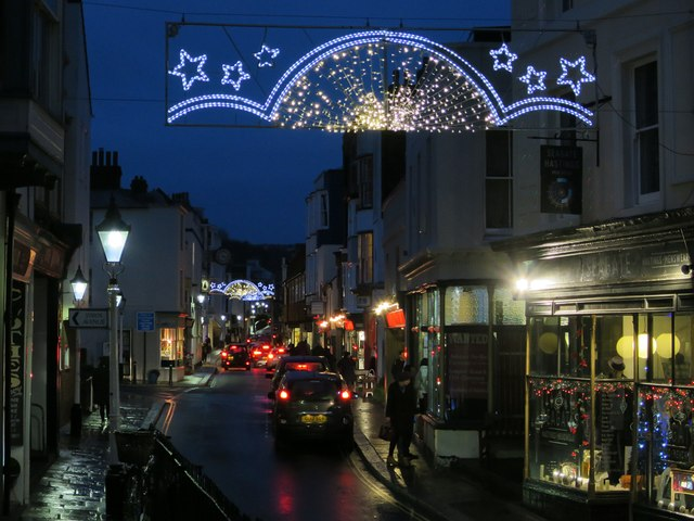 Christmas Decorations, High Street