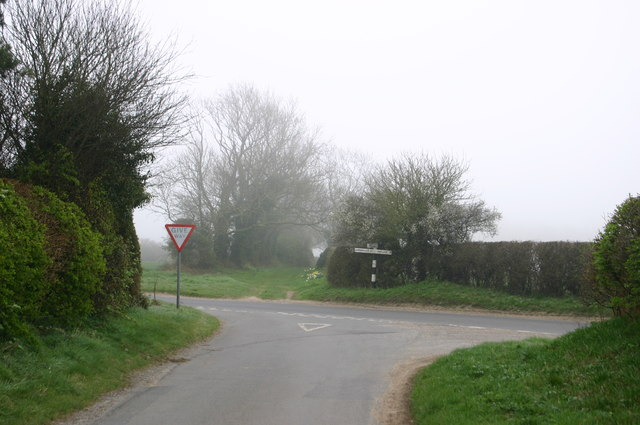 Junction with Red Barn Lane