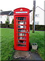 SO8103 : Literary use for a former phonebox, King's Stanley by Jaggery