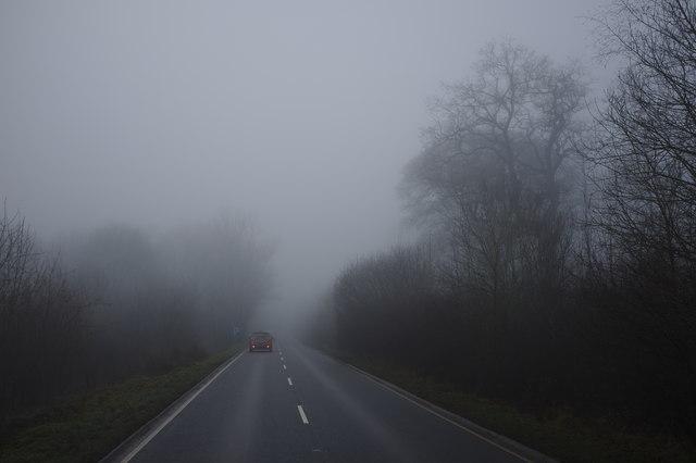 Fog on the Fosse Way