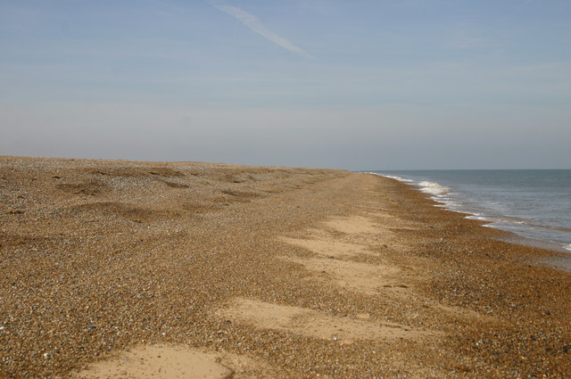 Beach heading to Blakeney Point