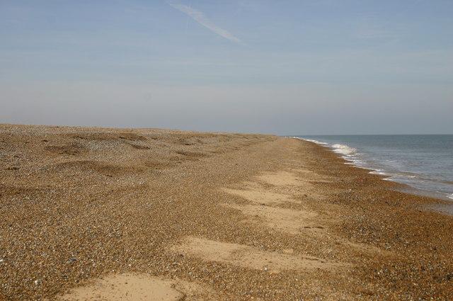 Beach heading to Blakeney Point