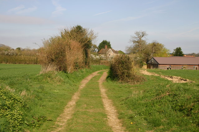 Path near Beckett's Farm