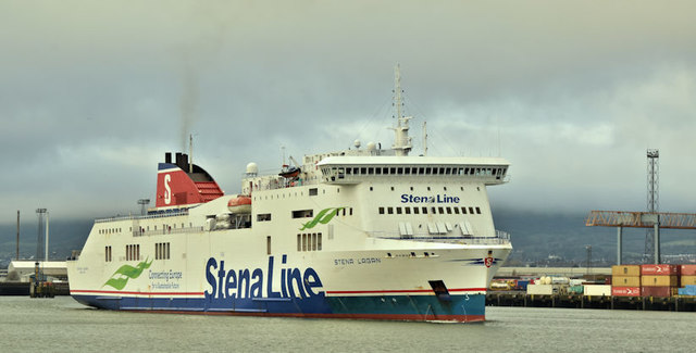 "The ""Stena Lagan"", Belfast (December 2017)"