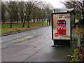 ST3188 : Zero sugar cherry Coca-Cola advert on a Malpas Road bus shelter, Crindau, Newport by Jaggery
