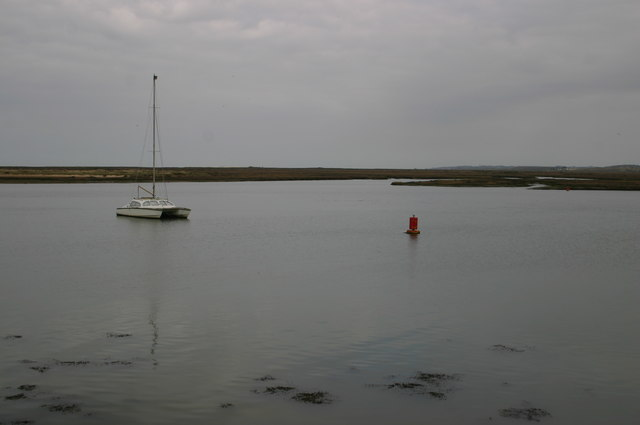 Looking to Wells Salt Marshes