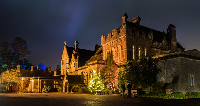 Christmas 2017 at Knightshayes Court (NT)
