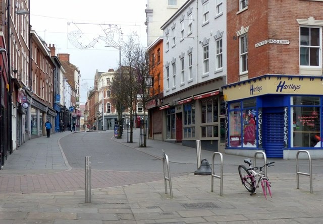 Carlton Street, empty