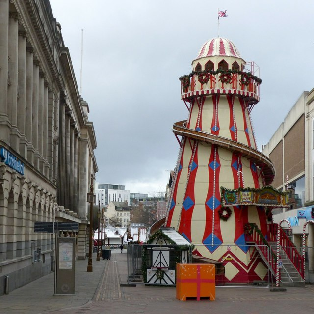 Helter-skelter, Long Row East