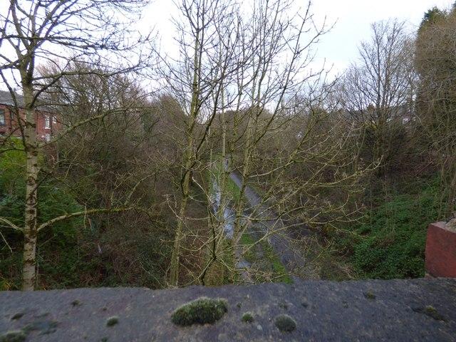 Trans Pennine Trail from Dowson Road bridge