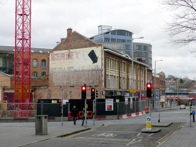 Wall advertising, Hockley