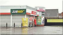 J3774 : Spar and BP, Ballyhackamore, Belfast  - December 2017(2) by Albert Bridge