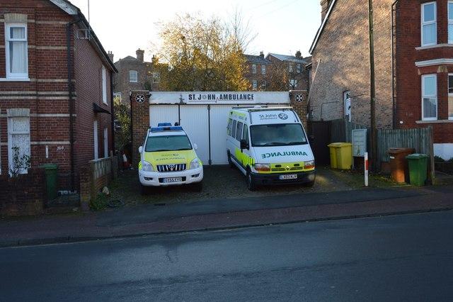 St John Ambulance, Silverdale Rd by N Chadwick