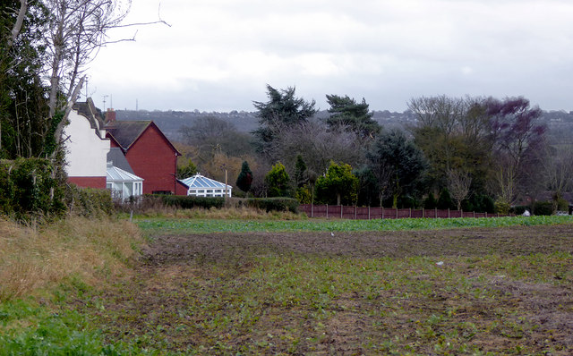 Farm land near Lower Penn, Staffordshire