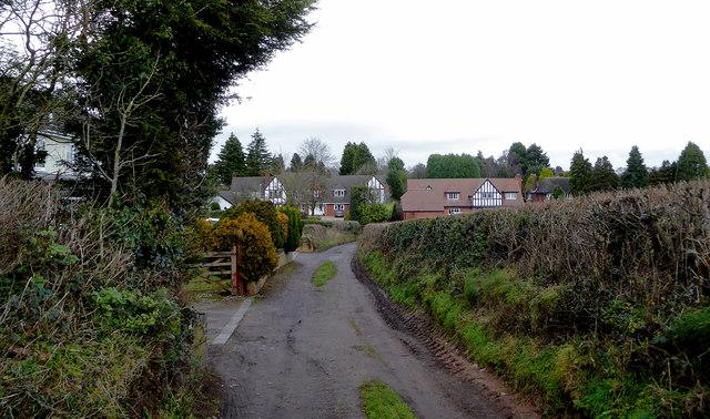 Bearnett Lane near Lower Penn, Staffordshire