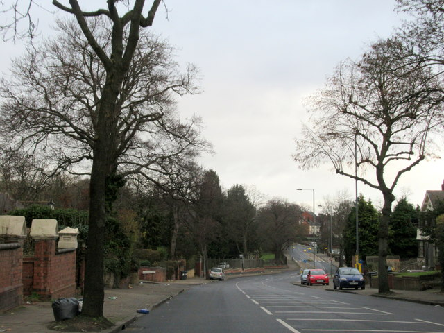 Hamstead Road Near Handsworth Park