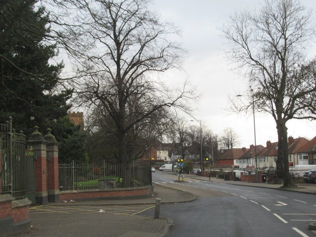 Hamstead Road By Entrance to Handsworth Park