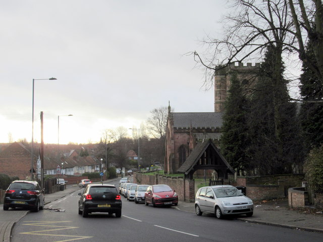 Hamstead Road Near St Mary's Parish Church