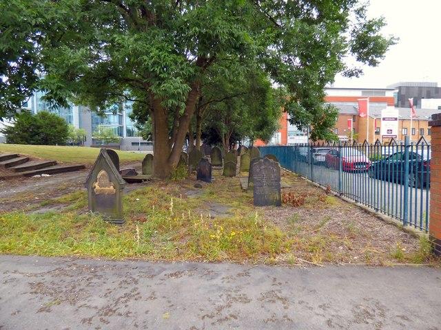 St Saviour's churchyard