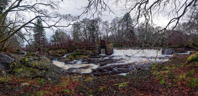 Weir on the River Orrin