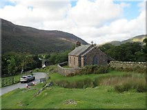 NY1717 : St James Church Buttermere by Les Hull
