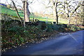 SE0443 : Bar House Lane at footpath junction by Roger Templeman