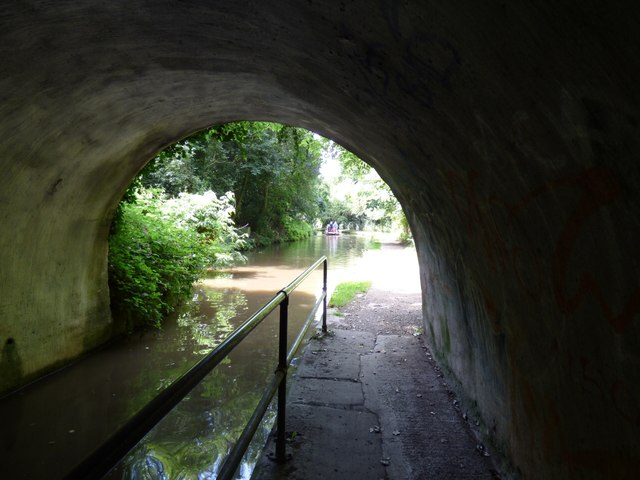 Exiting Woodley Tunnel