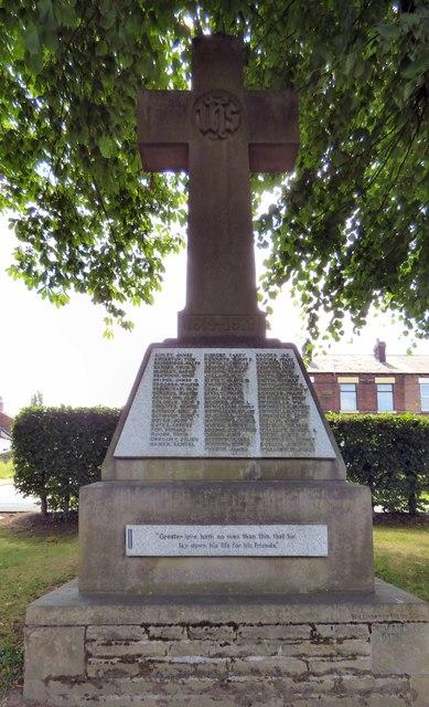 Romiley First World War Memorial
