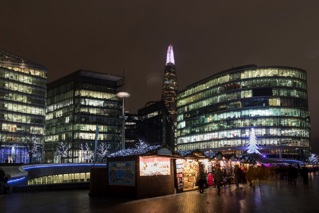 Christmas Market on the South Bank