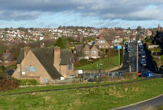 View towards Thorneywood