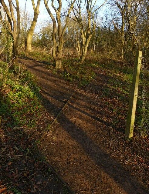 Ox-bow footpath