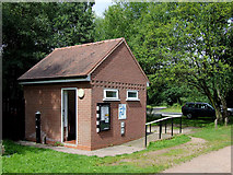 SO8483 : Canal sanitary station at Kinver, Staffordshire by Roger  Kidd