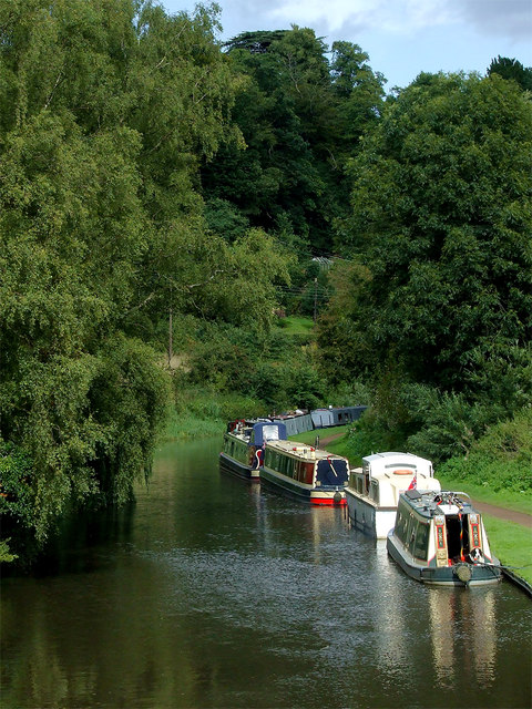 Canal in Kinver, Staffordshire