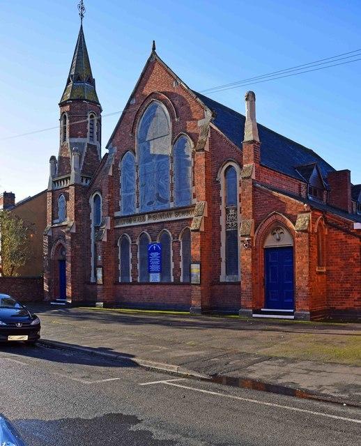 Milton Hall Baptist Church, Lorne Street, Kidderminster