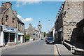 NJ5239 : Looking up Gordon Street, Huntly by Bill Harrison