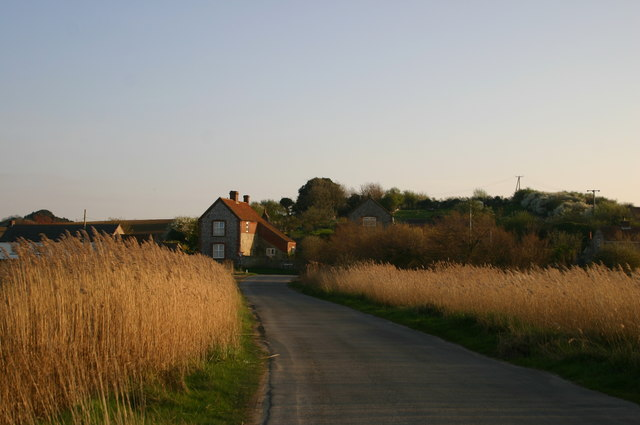 Lane from Salthouse Beach