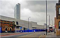 TQ3382 : Shoreditch High Street new station, 2010 by Ben Brooksbank