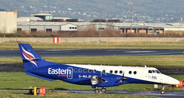 G-MAJB, Belfast City Airport (December 2017)