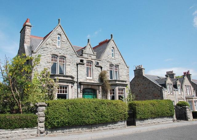 Villa, Queen Street, Huntly